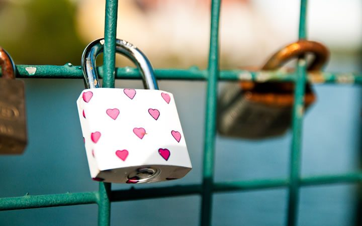 Love Locks Of Dubrovnik