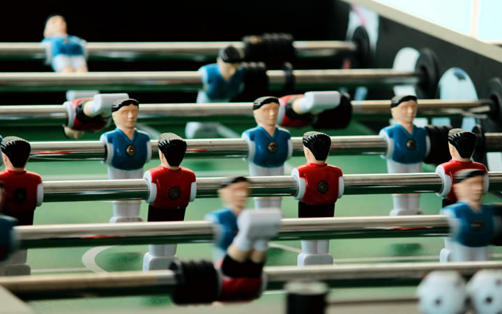 The relationship between Sales people and Marketing people is not unlike a game of football