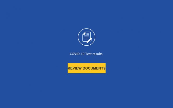 SCAM ALERT: COVID-19 Test Results Email